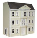 Mayfair Dolls House, Exterior Painted